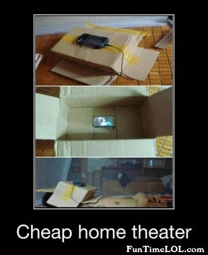 Cheap home theater