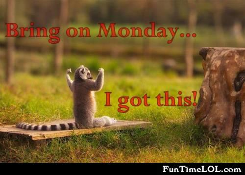 Bring on Monday I got this!