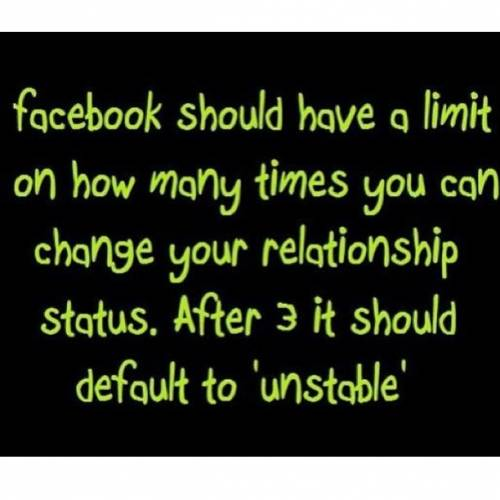 facebook relationship status limit