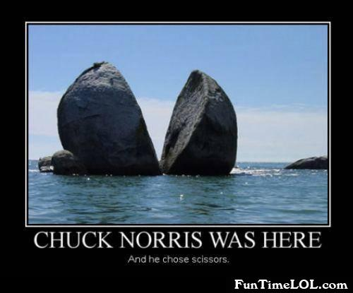 Chuch Norris was here