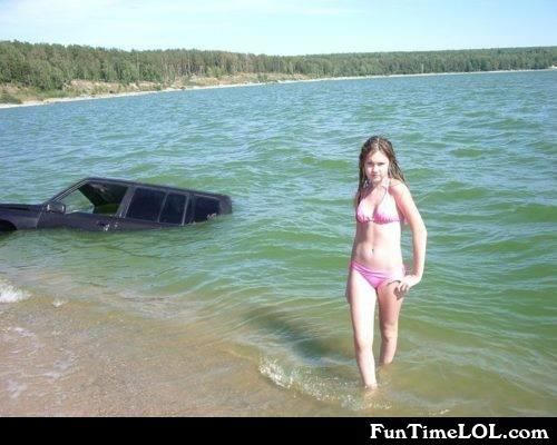 Sinking vehicle