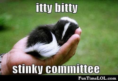 itty bitty stinky committee