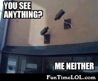 You see anything? me either