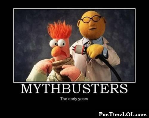 Mythbusters the early years