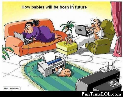 How babies will be born in the future