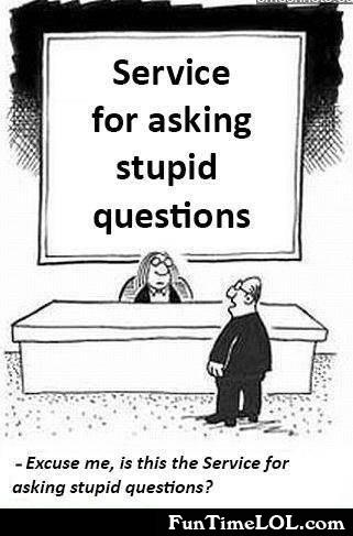 service for asking stupid questions