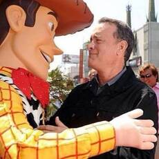woody and tom hanks