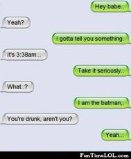 I am the batman