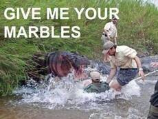 give me your marbles