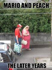 mario and peach the later years